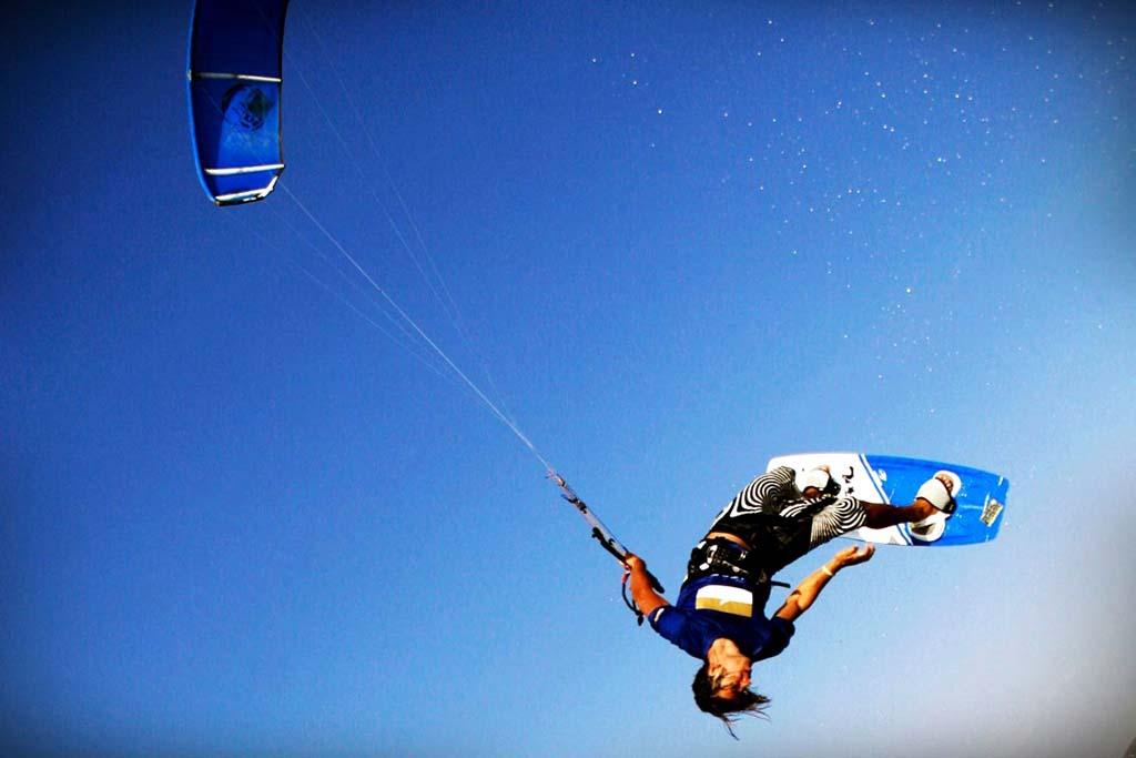 Kitesurf kiteboard